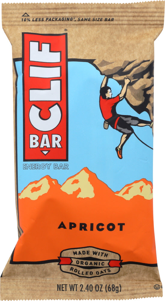 CLIF BAR: Apricot Energy Bar, 2.4 oz - Vending Business Solutions