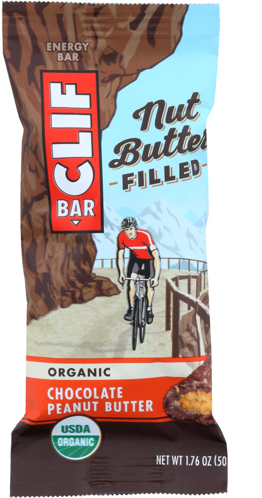 CLIF: Bar Chocolate Peanut Butter Filled, 1.76 oz - Vending Business Solutions