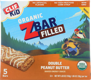 CLIF KID: Bar Double Peanut Butter, 5.3 oz - Vending Business Solutions