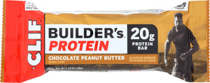 CLIF: Builder Protein Bar Chocolate Peanut Butter, 2.4 oz - Vending Business Solutions