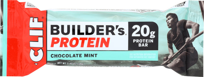 CLIF BUILDER: Protein Bar Chocolate Mint, 2.4 oz - Vending Business Solutions