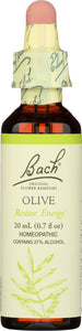 BACH ORIGINAL FLOWER REMEDIES: Olive, 0.7 oz - Vending Business Solutions