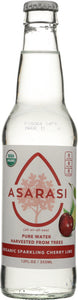 ASARASI: Water Sparkle Cherry Lime, 12 oz - Vending Business Solutions