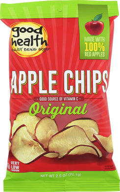 GOOD HEALTH: Crispy Original Apple Chips, 2.5 oz - Vending Business Solutions