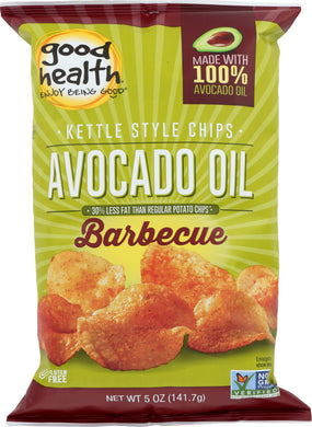 GOOD HEALTH: Kettle Chips Avocado Oil Barbecue, 5 oz - Vending Business Solutions