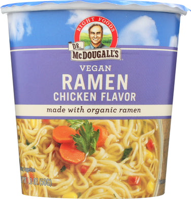 DR MCDOUGALL'S: Ramen Soup Vegan Chicken, 1.8 oz - Vending Business Solutions