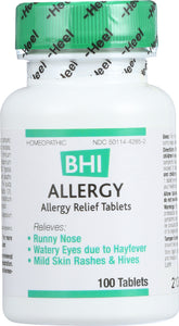 HEEL BHI: Allergy Homeopathic Medication, 100 Tablets - Vending Business Solutions