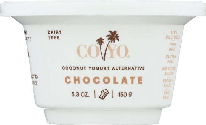 CO YO: Coconut Yogurt Alternative Chocolate, 5.30 oz - Vending Business Solutions