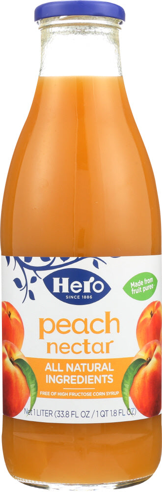 HERO: Nectar Peach, 33.75 oz - Vending Business Solutions