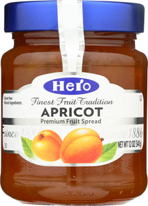 HERO: Fruit Spread Apricot, 12 oz - Vending Business Solutions