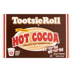 COCOA HOT TOOTSIE ROLL: Cocoa Hot Tootsie Roll, 12 pc - Vending Business Solutions