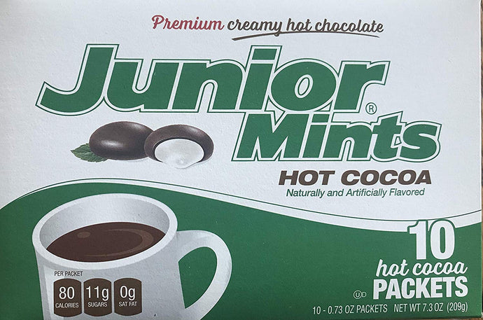 COCOA HOT TOOTSIE ROLL: Hot Cocoa Junior Mints Pack, 10 pc - Vending Business Solutions