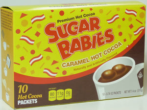 COCOA HOT TOOTSIE ROLL: Sugar Babies Caramel Hot Cocoa Packets, 10 pc - Vending Business Solutions