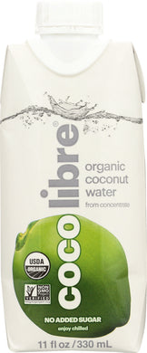 COCO LIBRE: Pure Organic Coconut Water, 11 oz - Vending Business Solutions