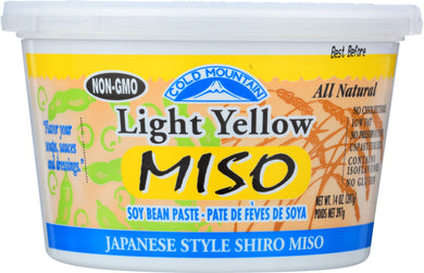 COLD MOUNTAIN: Light Yellow Miso, 14 oz - Vending Business Solutions