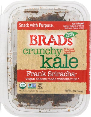 BRADS PLANT BASED: Crunchy Kale Sriracha, 2 oz - Vending Business Solutions