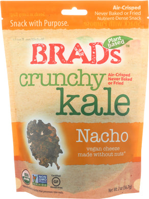 BRADS RAW: Kale Crunchy Nacho, 2 oz - Vending Business Solutions