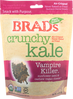 BRADS RAW: Crunchy Kale Vampire Killer, 2 oz - Vending Business Solutions