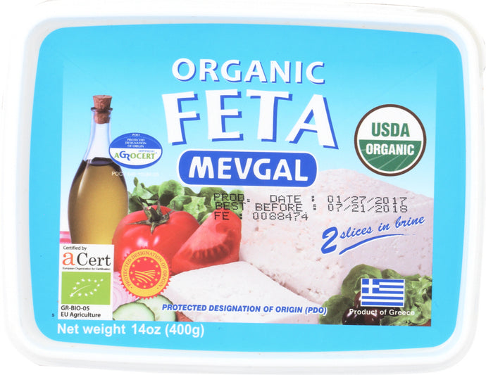 ATALANTA CORPORATION: Cheese Org Feta 14 oz - Vending Business Solutions