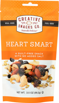 CREATIVE SNACK: Heart Smart Mix Nuts, 3.5 oz - Vending Business Solutions
