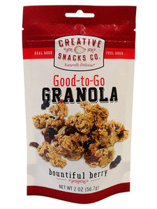 CREATIVE SNACK: Bountiful Berry, 2 oz - Vending Business Solutions