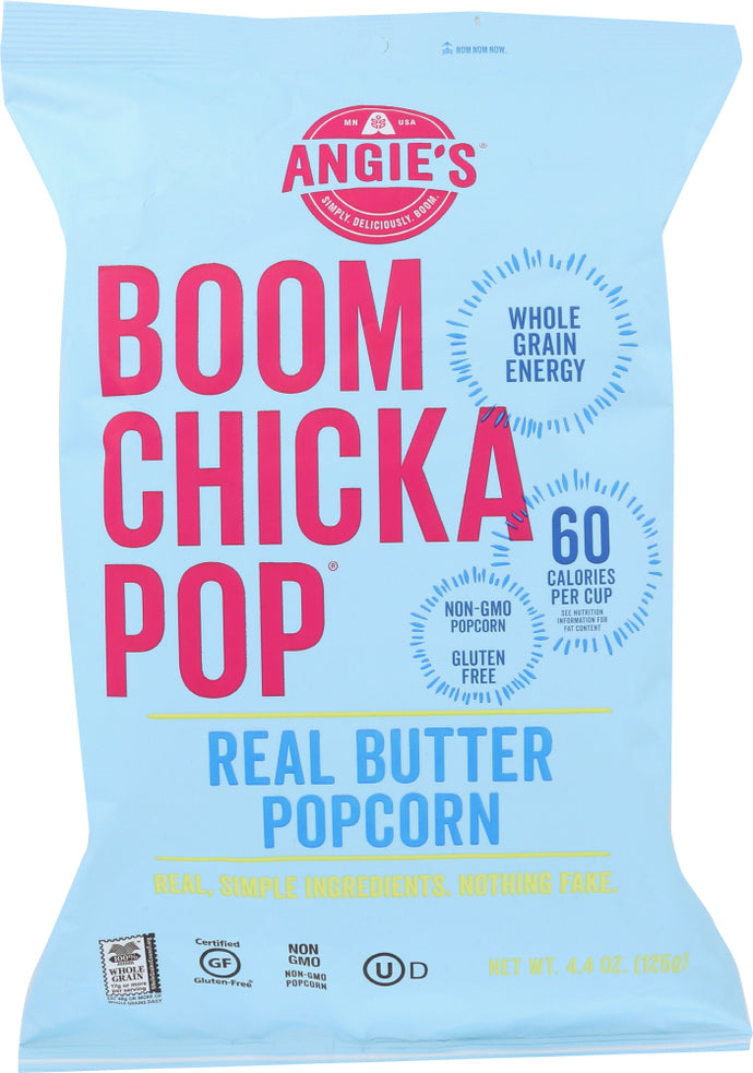 ANGIES: Boomchickapop Real Butter Popcorn, 4.4 oz - Vending Business Solutions