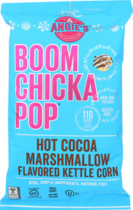 ANGIE'S: Hot Cocoa Marshmallow Flavored Kettle Corn, 4.50 oz - Vending Business Solutions