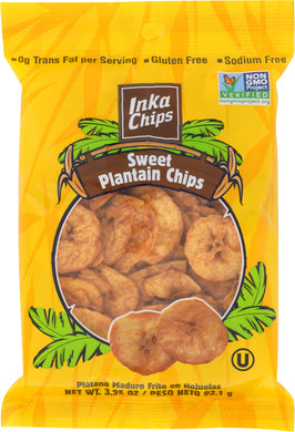 INKA CHIPS: Sweet Plantain, 3.25 oz - Vending Business Solutions