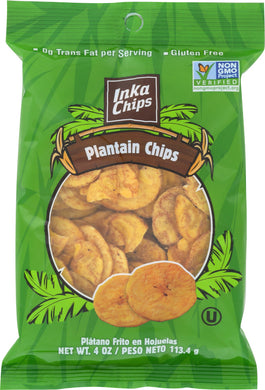 INKA: Chips Original Roasted Plantains, 4 oz - Vending Business Solutions