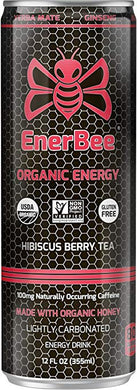 ENERBEE: Team Hibiscus Berry 6 pk, 72 fo - Vending Business Solutions