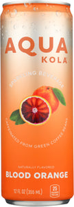 AQUA KOLA: Beverage Sparkling Blood Orange, 12 fo - Vending Business Solutions