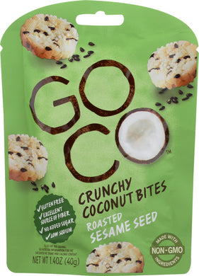 GO CO: Coconut Sesame Bites, 1.4 oz - Vending Business Solutions