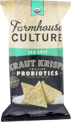 FARMHOUSE CULTURE: Sea Salt Kraut Krisps Organic, 5 oz - Vending Business Solutions