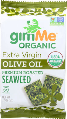GIMME: Organic Premium Roasted Seaweed Extra Virgin Olive Oil, 0.17 oz - Vending Business Solutions