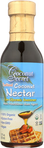 COCONUT SECRET: Organic Raw Coconut Nectar, 12 Oz - Vending Business Solutions