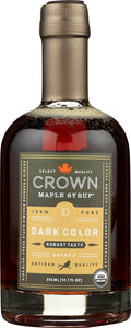 CROWN MAPLE: Dark Color Maple Syrup, 12.7 fo - Vending Business Solutions