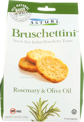 ASTURI: Bruschettini Rosemary & Olive Oil 4.23 oz - Vending Business Solutions