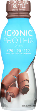 ICONIC: Protein Drink Chocolate Truffle, 11.5 fl oz - Vending Business Solutions