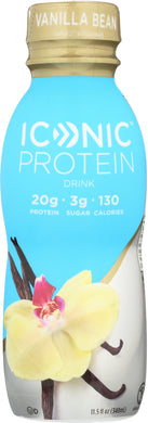 ICONIC: Protein Drink Vanilla Bean, 11.5 fl oz - Vending Business Solutions