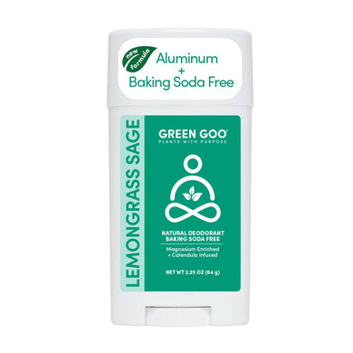 GREEN GOO: Lemongrass & Sage Deodorant, 2.25 oz - Vending Business Solutions