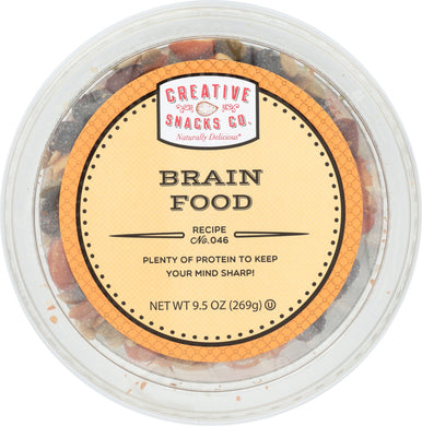 CREATIVE SNACK: Brain Food, 9.5 oz - Vending Business Solutions
