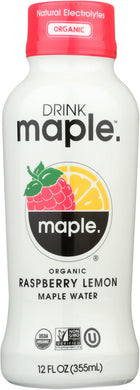 DRINK MAPLE: Water Maple Raspberry Lemon, 12 fo - Vending Business Solutions