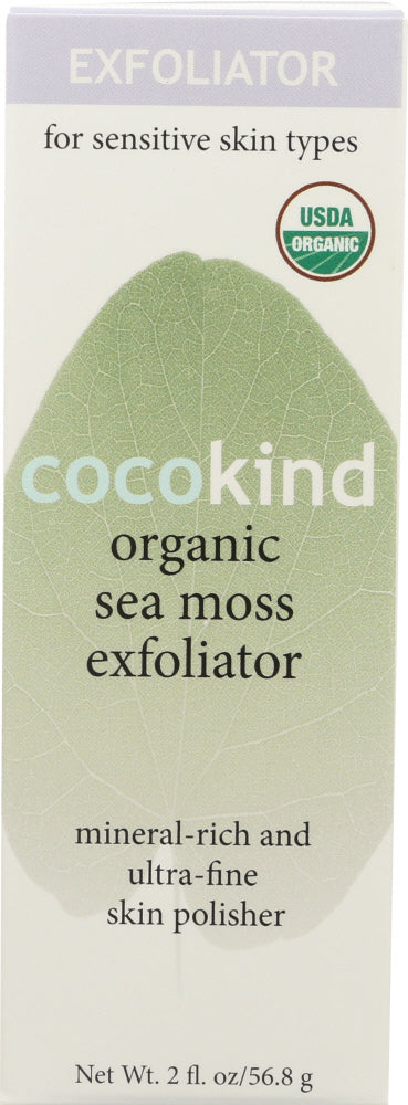 COCOKIND: Organic Sea Moss Exfoliator, 2 oz - Vending Business Solutions