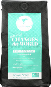 COEXIST: Diplomat Ground Coffee, 10 oz - Vending Business Solutions