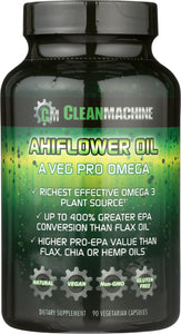 CLEAN MACHINE: Oil Ahiflower, 90 cp - Vending Business Solutions
