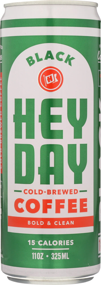 HEYDAY COLD BREW: Coffee Cold Brew Original, 11 oz - Vending Business Solutions