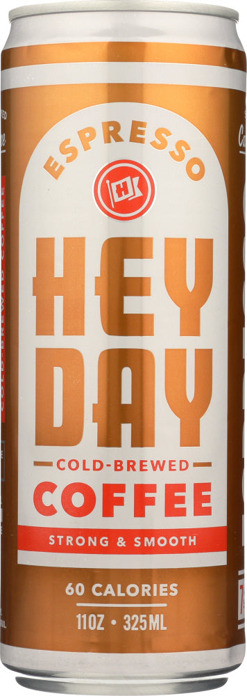 HEYDAY COLD BREW: Coffee Cold Brew Espresso, 11 fo - Vending Business Solutions