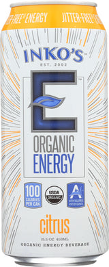 INKO'S: Energy Drink Adult White Tea, 15.5 oz - Vending Business Solutions