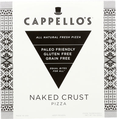 CAPPELLOS: Grain Free Naked Crust Pizza, 9 oz - Vending Business Solutions