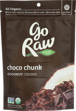 GO RAW: Choco Chunk Coconut Crisp, 2 oz - Vending Business Solutions
